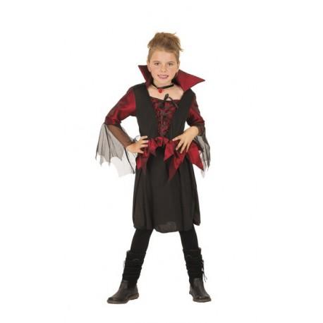 Costume Vampiressa per Halloween Bambini 7-9 anni