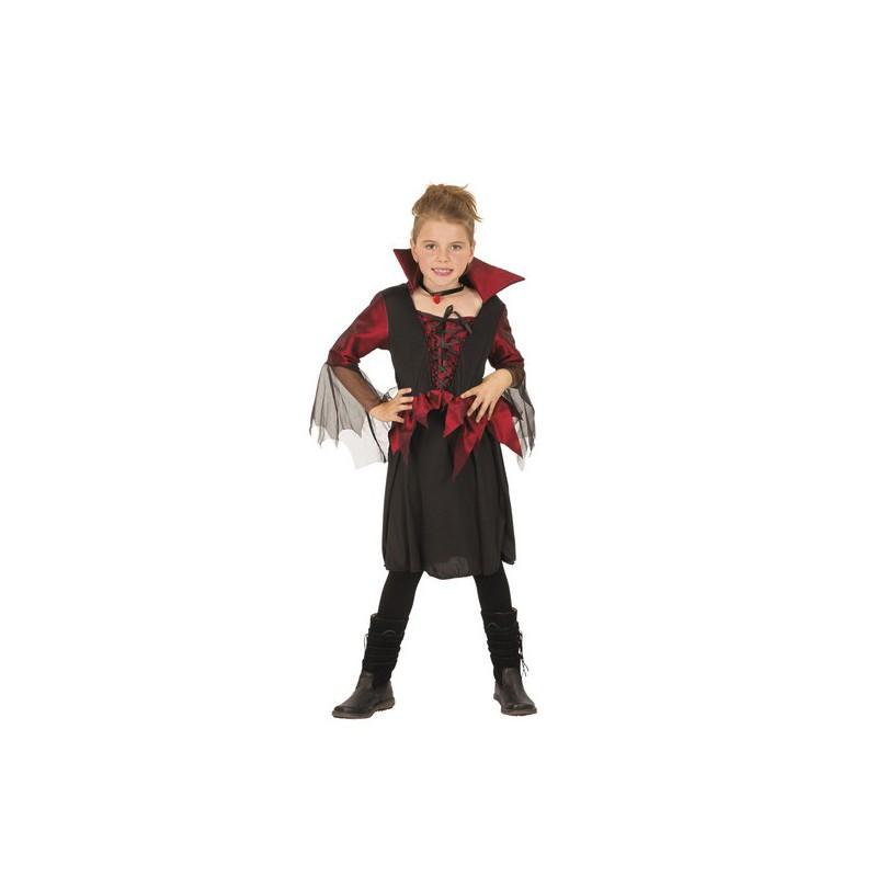Costume vampiressa per halloween bambini for Cucinare per bambini 7 anni