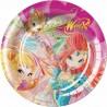 Piatti Winx Bloomix - festa compleanno Winx