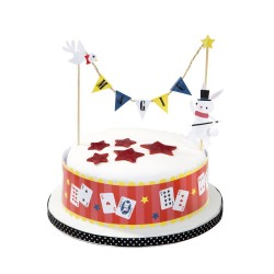 Magic Party Cake Topper Bunting