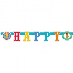 Fisher Price Circus Letter Banner
