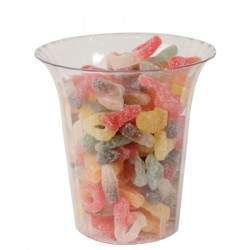 Contenitore Candy Buffet Cilindrico Svasato