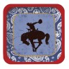 Western Lasso Cowboy Dessert Plates