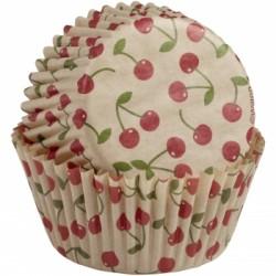 Pirottini Cupcake Ciliege Retro