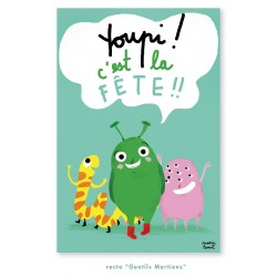 Little Monsters invitations