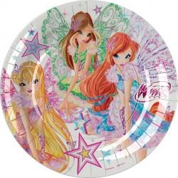 Winx Butterflix Dinner Plates