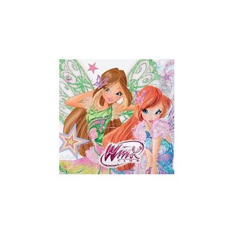 Winx Butterflix Paper Napkins