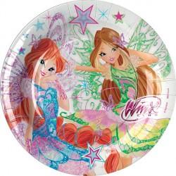 Winx Butterflix Dessert Plates