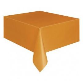 Tovaglia Plastica Arancione 137x274cm