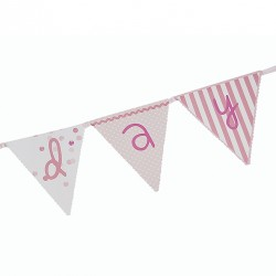 Pink n Mix Paper Flag Banner_1