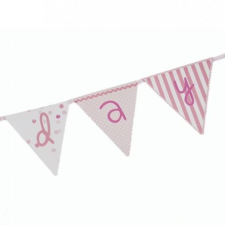 Pink n Mix Paper Flag Banner_1
