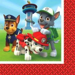 Tovaglioli Paw Patrol per Festa Compleanno Bambini