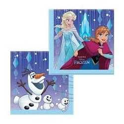 Frozen Snowflakes Lunch Napkins