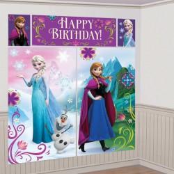 Scenografia Frozen - Elsa, Anna e Olaf