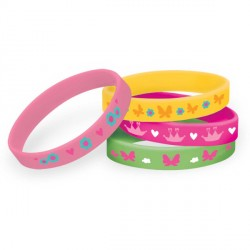 Woodland Princess Rubber Bracelets