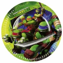 Ninja Turtles Dessert Plates