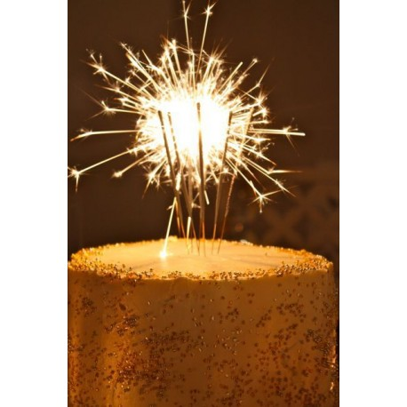 Sparkly Candles - cake