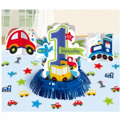 All Aboard First Birthday Table Decoration Kit