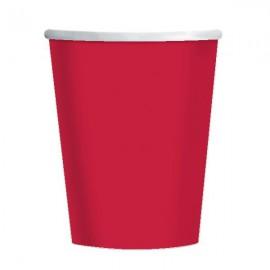 Bicchieri Carta Rosso