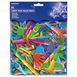 Assorted Noise Favour Pack 48pc
