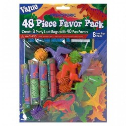 Dinosaurs Favour Pack 48pc