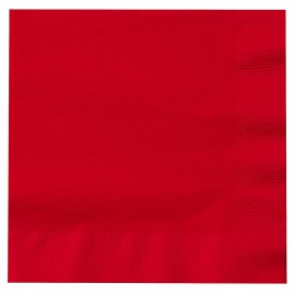 Red Paper Lunch Napkins