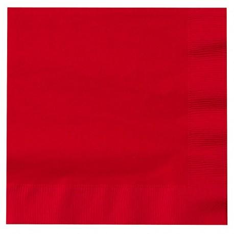 Tovaglioli Rosso 33x33cm 20pz