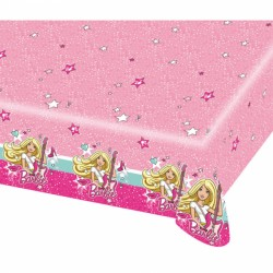 Tovaglia plastica festa Barbie Popstar