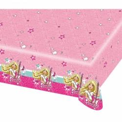 Barbie Popstar Plastic Tablecover