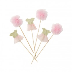 Ballerina Cake Picks