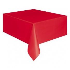 Tovaglia Plastica Rosso 137x274cm