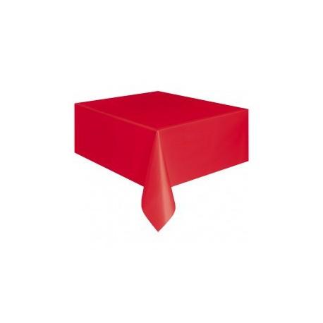 Tovaglia Plastica Rossa 137x274cm