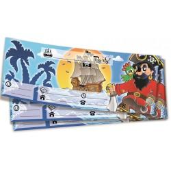 Inviti compleanno Pirati