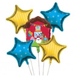 Farmhouse Fun Foil Balloon Bouquet