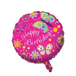 Butterfly Sparkle Foil Balloon