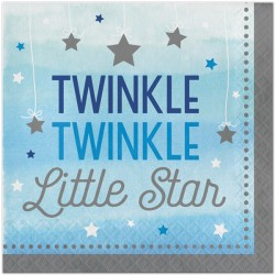 Little Star Boy Napkins - Twinkle Twinkle Little Star