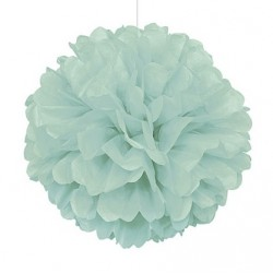 Mint Fluffy Decoration