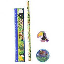 Rain Forest School Set - Toucan