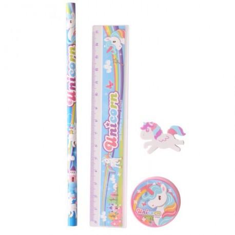Set per la scuola regalini a tema Unicorno