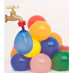 "Palloncini bombe d'acqua ""gavettoni"" 40 pezzi"
