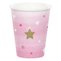 Little Star Girl Birthday Cups