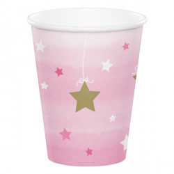 Little Star Girl Birthday Cups