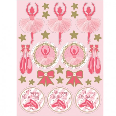 Ballerina Stickers Sheets