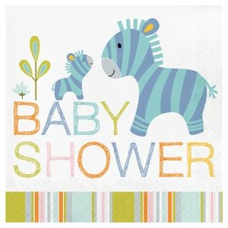 Happy Jungle Baby Shower Napkins