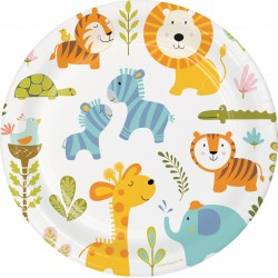 Happy Jungle Dinner Plates
