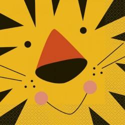 Tovaglioli Giungla - Tigre