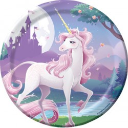 Unicorn Fantasy Dessert Plates