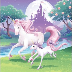 Unicorn Fantasy Lunch Napkins