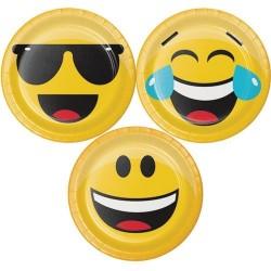 Emojions Dessert Plates