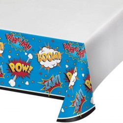 Superhero Slogans Tablecover